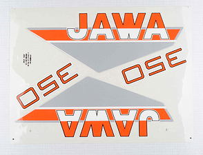 Sticker set JAWA 350 (Jawa 639) /