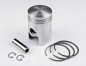 Piston set 58.00 - 60.00mm, pin 18mm (Jawa, CZ 175) /