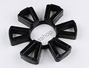 Rubber block of rear chain wheel (Jawa, CZ Panelka) /