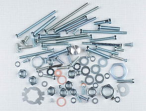 Engine bolt & nut pack (Jawa 350 Kyvacka) /