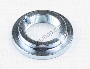 Steering nut M26x1 - circle (Jawa, CZ) /