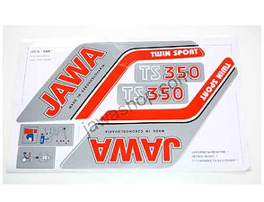 Sticker set Jawa TS 350 (Jawa 638, 639) /