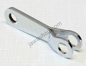 Brake arm lever 90mm (Cr) / Jawa, CZ Panelka