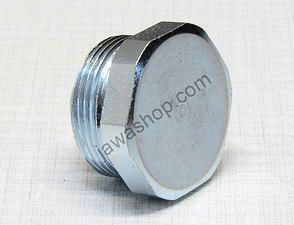 Nut of front fork tube / Jawa 638-640
