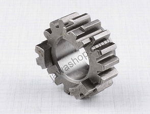 Wheel of 2nd gear, mainshaft - 17t / CZ 125, 175