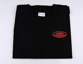 T-shirt black w/ red JAWA logo / XXL Size