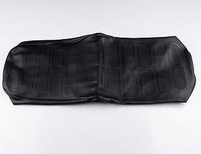 Seat cover black with black line (Jawa 634) /
