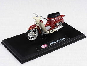 1:18 scale model Jawa 50 Pionyr type 20 /