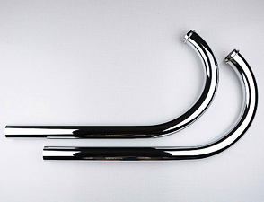 Exhaust pipe set - longer (Jawa 350 Kyvacka) /