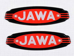 Fuel tank logo set (Jawa Californian) /