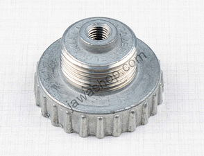 Lid of throttle valve with thread (Jawa, CZ) /