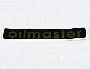 Sticker Oilmaster 120x20mm - paper (Jawa Californian) /