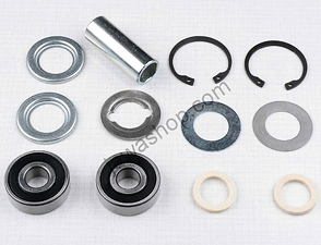 Wheel hub bearing set with spacer 56mm (Jawa 250, 350 Kyvacka) /