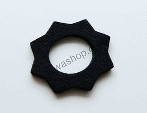 Felt pad of filler cap - black (Jawa S11) /