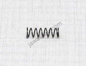 Spring of carburetor float pin 4x12mm (Jawa, CZ Kyvacka) /