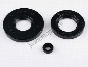 Sealing ring of engine - set, 3pcs (Jawa 250 Kyvacka) /