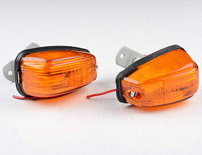 Rear blinker L+R set / Jawa Bizon