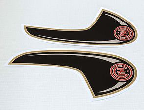 Fuel tank sticker set (CZ 477) /