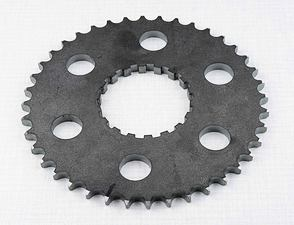 Rear chain wheel - 40t (CZ 501, 502) /
