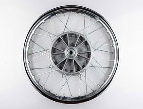 "Wheel 16"" x 1.85 with groove (Jawa 250, 350 Panelka) /"