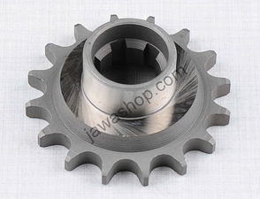 Drive sprocket - 15t with extension (Jawa 250, 350 Kyvacka) /
