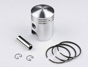 Piston set 57.00 - 60.00mm, pin 15mm (CZ 150 C) /