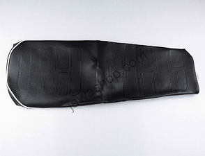 Seat cover black with white line (CZ 471, 472) /