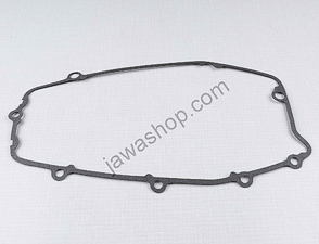 Gasket of left crankcase cover - 1mm (Jawa 638-640) /