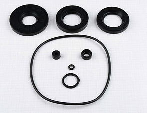 Sealing ring of engine - set, 8pcs (Jawa 638-640) /