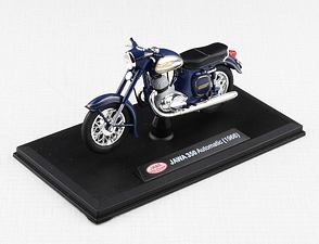 1:18 scale model Jawa 350 Automatic (1966) - BLUE /
