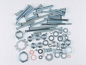 Engine bolt & nut pack (Jawa 350 type 360) /