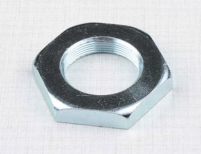 Steering nut M26x1 - hexagon (Jawa, CZ) /