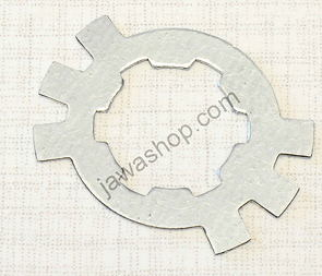 Lock of drive sprocket nut - 0,8mm (Jawa 50 Pionyr, CZ) /