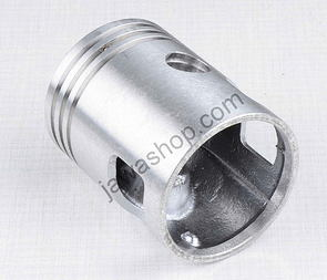 Piston 58.00 - 60.00mm, pin 15mm - LEFT, Berta (Jawa 350 - 6V) /
