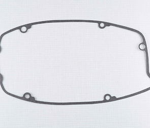 Gasket of left crankcase cover (clutch) - 1 mm (Jawa 634) /