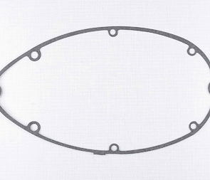 Gasket of left crankcase cover (clutch) - 1mm (CZ 125, 150 C) /