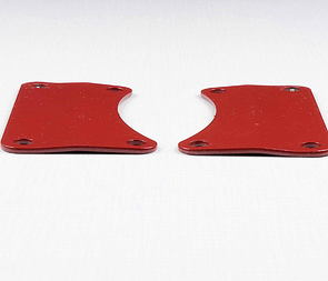 Engine bracket set - bent, painted (Jawa 250, 350 Panelka) /