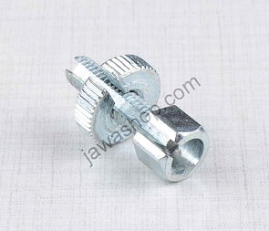 Bowden cable adjustment screw M6x30mm / Jawa, CZ