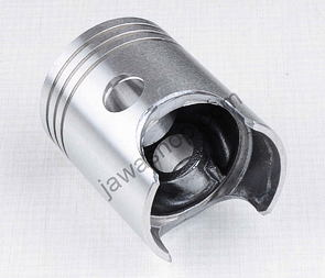 Piston 58.00 - 60.00mm, pin 16mm - LEFT, ALMET (Jawa 350  - 12V) /