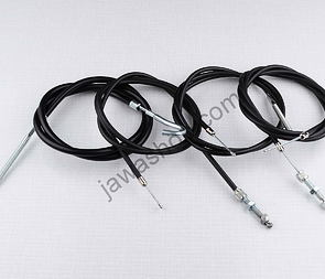 Bowden cable set with adjustment (Jawa, CZ Kyvacka) /