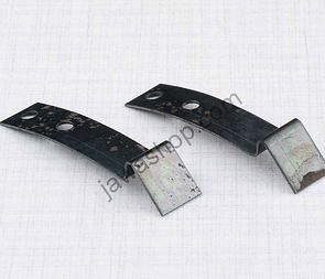 Bracket of carburetor cover - set (Jawa Perak 250) /