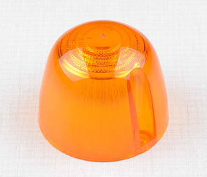 Blinker glass - round, orange / Jawa 634, CZ, Velorex