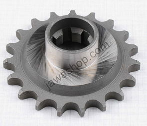 Drive sprocket - 19t with extension (Jawa 250, 350 Kyvacka) /