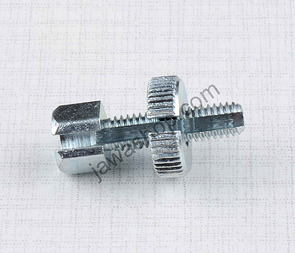 Bowden cable adjustment bolt M6x30mm (Jawa, CZ) /
