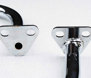 Rear handle L+R set (Cr) (Jawa 638, 639) /