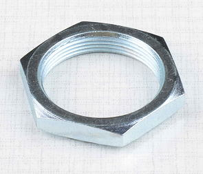 Steering nut with edge (Jawa 50 Pionyr) /