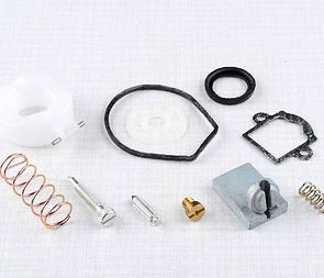 Carburetor repair kit - Dellorto aftermarket (Babetta 207, 210) /