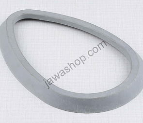 Rubber sealing of ampermeter - grey (Jawa, CZ Kyvacka) /