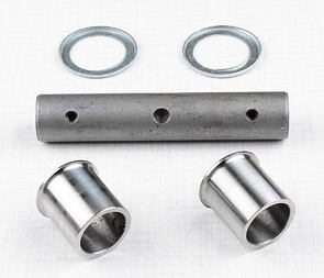 Axle of rear swing fork set (steel) (Jawa 250,350 Kyvacka) /