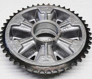 Rear chain wheel - 46t (Jawa 250, 350 Panelka) /